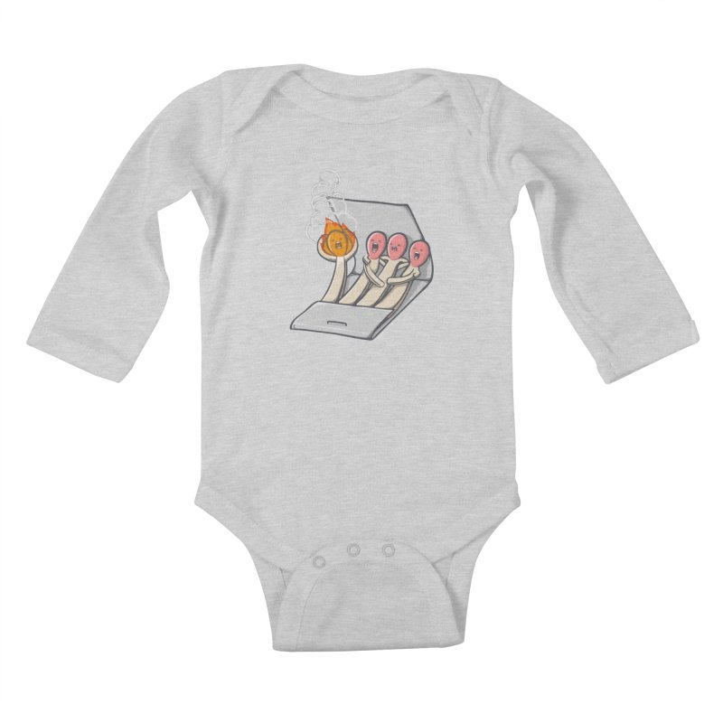Divided we stand Kids Baby Longsleeve Bodysuit by roborat's Artist Shop