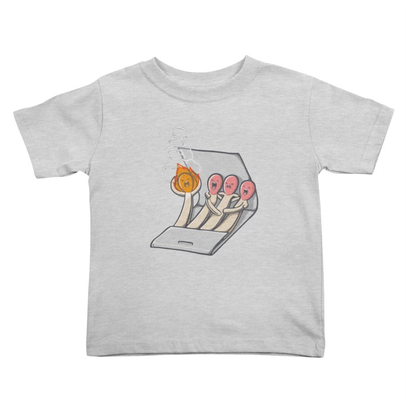 Divided we stand Kids Toddler T-Shirt by roborat's Artist Shop