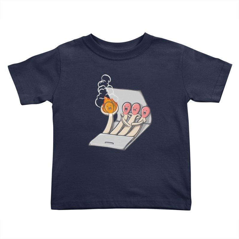 Divided we stand Kids Toddler T-Shirt by roborat's Artist Shop