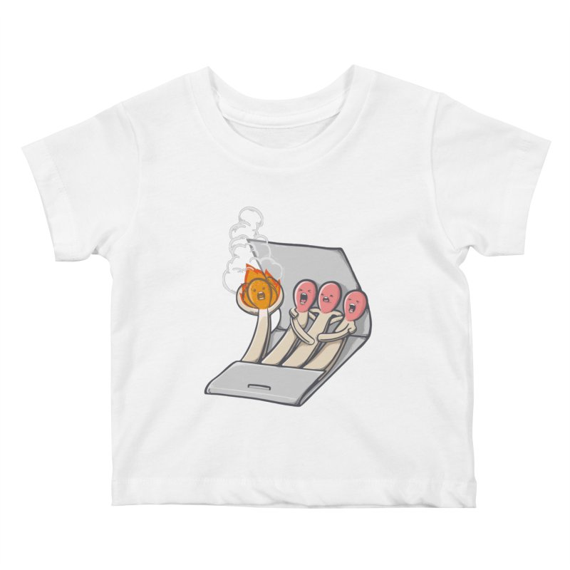 Divided we stand Kids Baby T-Shirt by roborat's Artist Shop