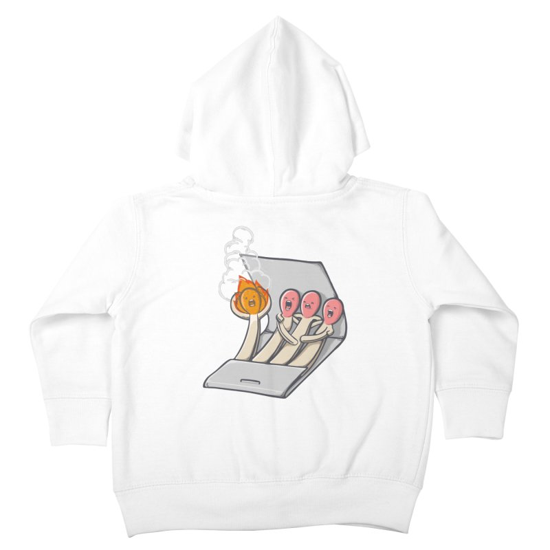 Divided we stand Kids Toddler Zip-Up Hoody by roborat's Artist Shop