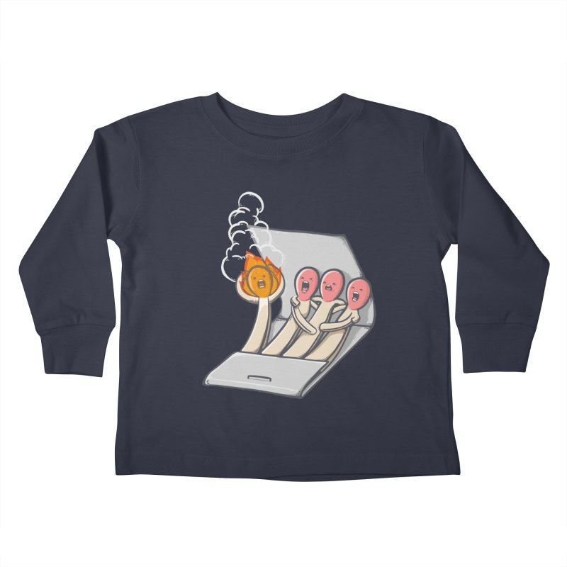 Divided we stand Kids Toddler Longsleeve T-Shirt by roborat's Artist Shop