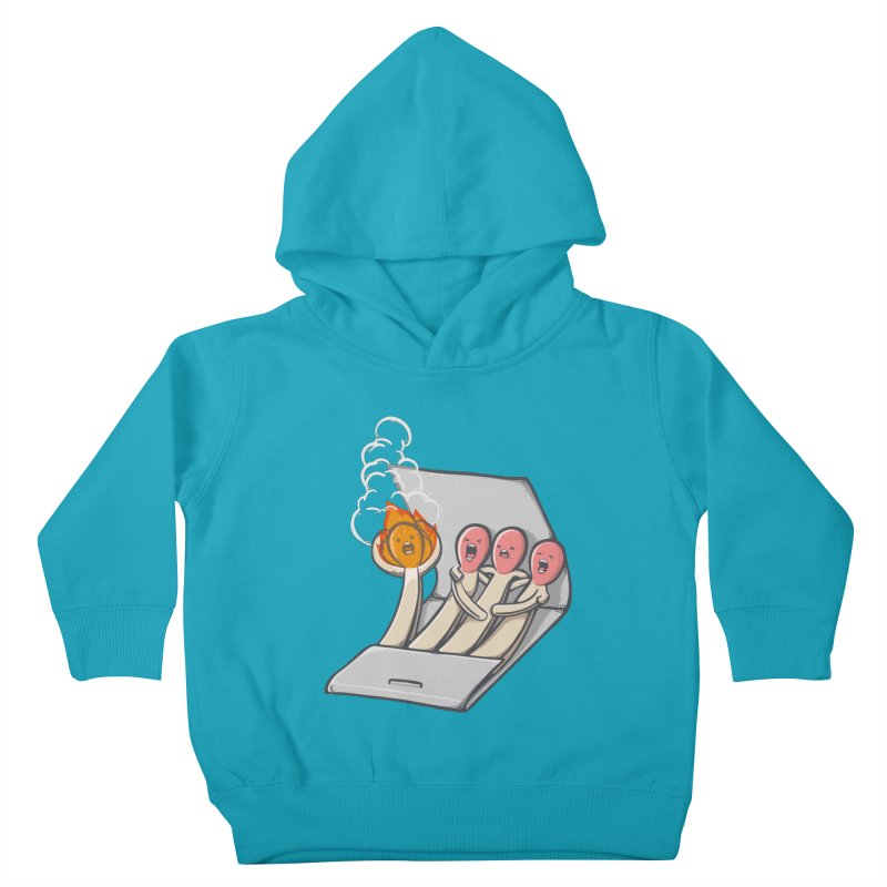 Divided we stand Kids Toddler Pullover Hoody by roborat's Artist Shop