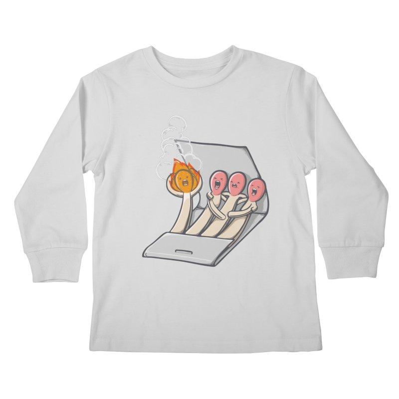 Divided we stand Kids Longsleeve T-Shirt by roborat's Artist Shop