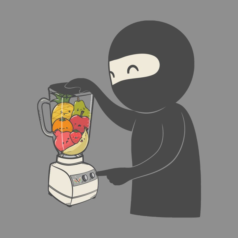 Fruit Ninja Men's T-Shirt by roborat's Artist Shop