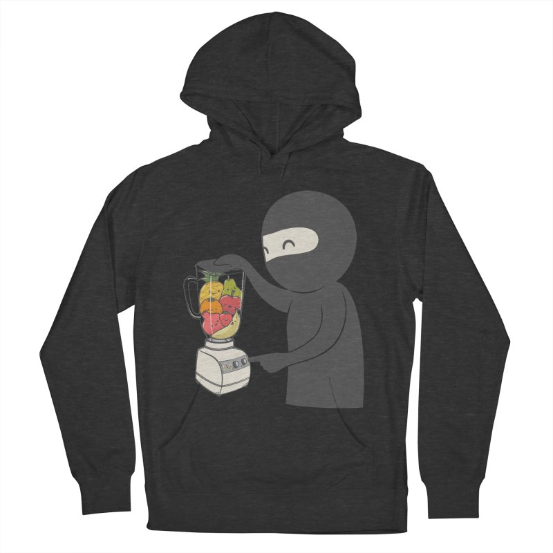 Fruit Ninja Men's French Terry Pullover Hoody by roborat's Artist Shop