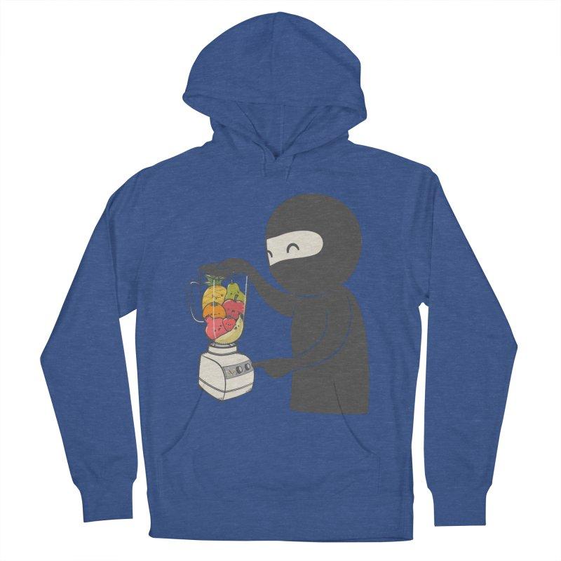 Fruit Ninja Men's French Terry Pullover Hoody by roborat's Artist Shop