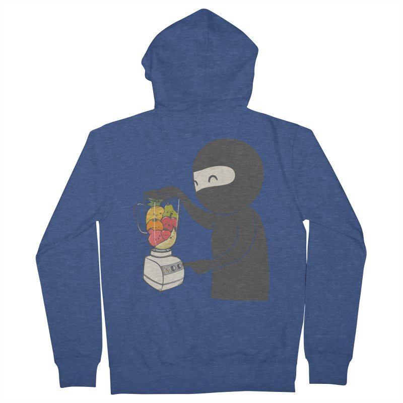 Fruit Ninja Women's Zip-Up Hoody by roborat's Artist Shop