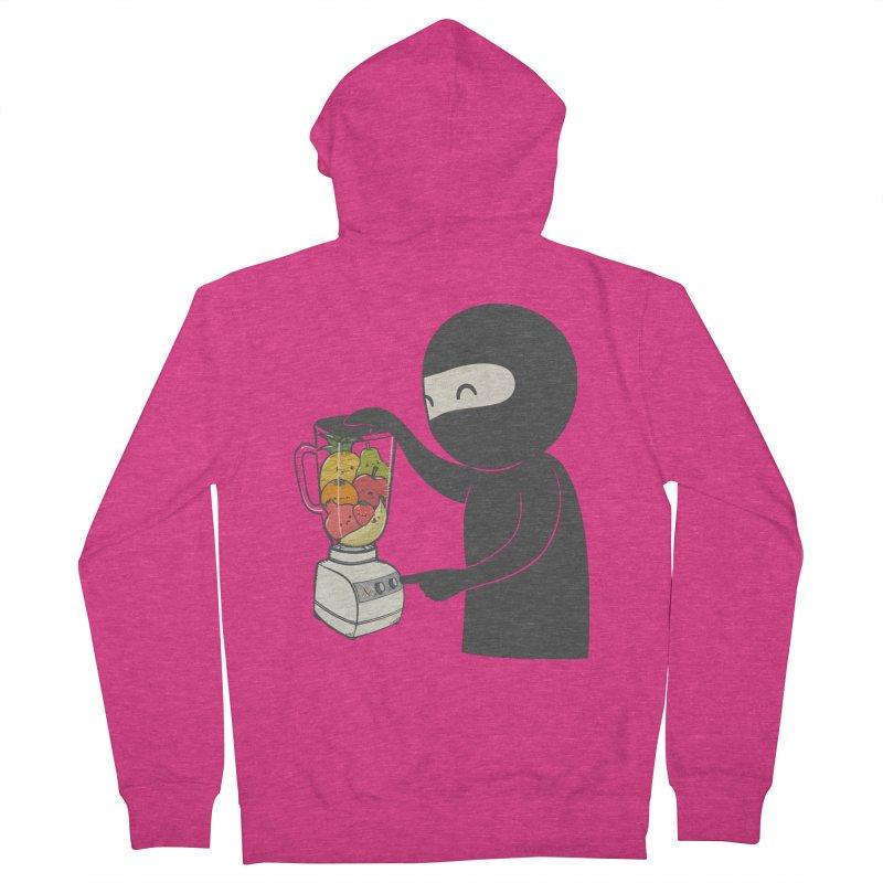 Fruit Ninja Women's Zip-Up Hoody by roborat's Artist Shop
