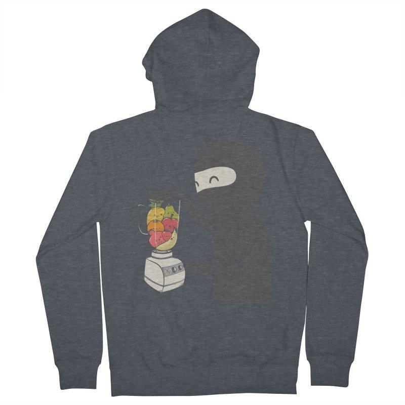 Fruit Ninja Men's Zip-Up Hoody by roborat's Artist Shop