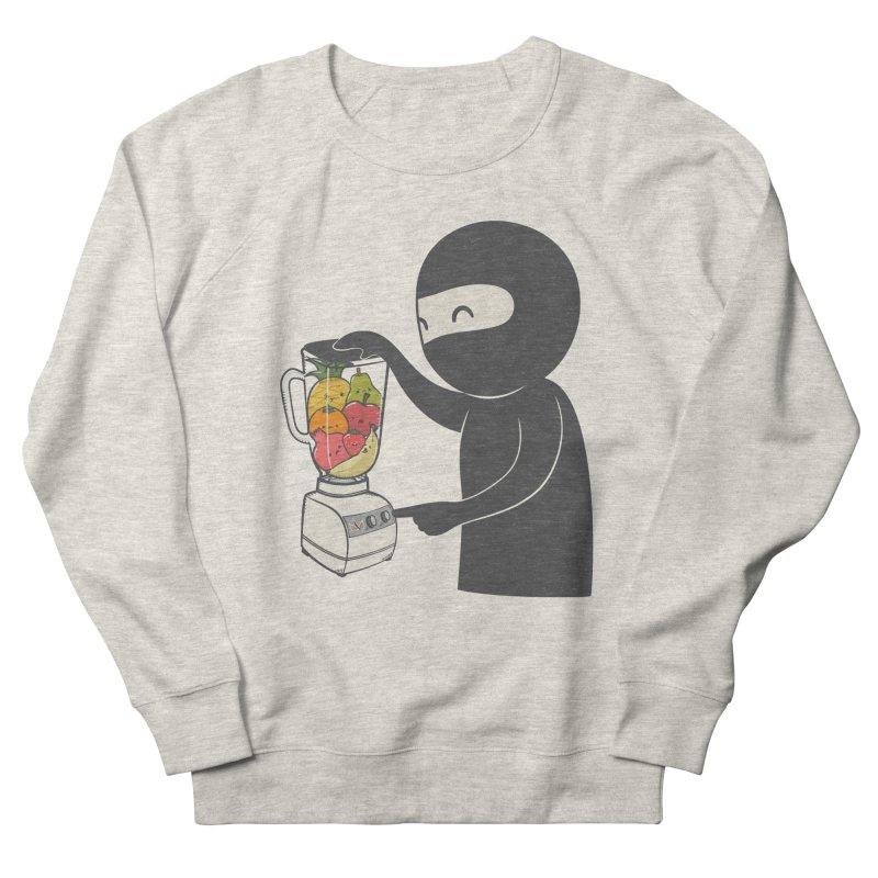 Fruit Ninja Men's French Terry Sweatshirt by roborat's Artist Shop