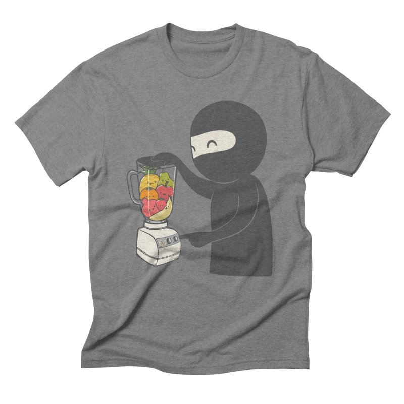 Fruit Ninja Men's Triblend T-Shirt by roborat's Artist Shop