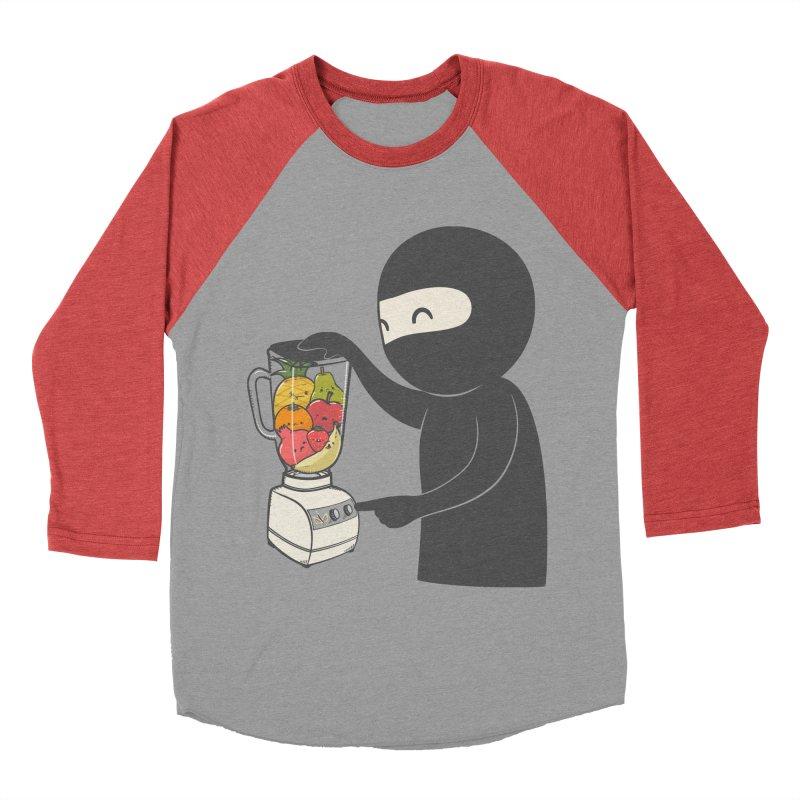 Fruit Ninja Women's Baseball Triblend T-Shirt by roborat's Artist Shop