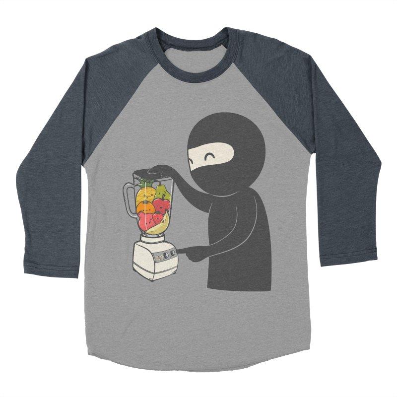 Fruit Ninja Women's Baseball Triblend Longsleeve T-Shirt by roborat's Artist Shop