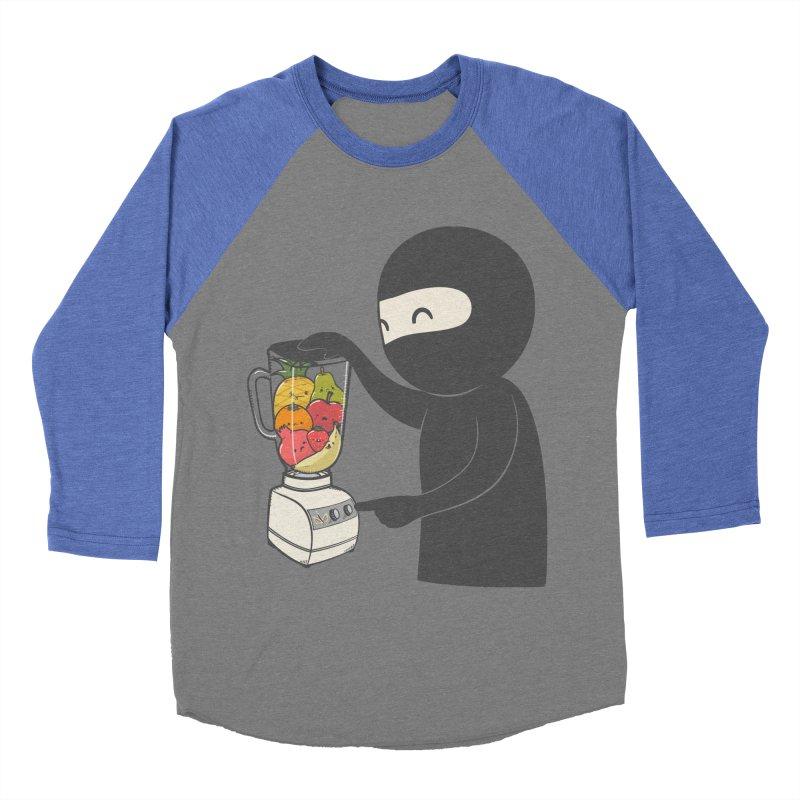 Fruit Ninja Men's Baseball Triblend Longsleeve T-Shirt by roborat's Artist Shop