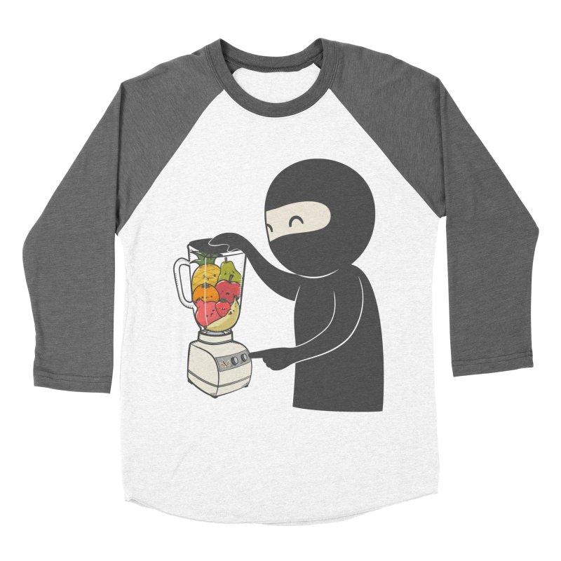 Fruit Ninja Men's Baseball Triblend T-Shirt by roborat's Artist Shop