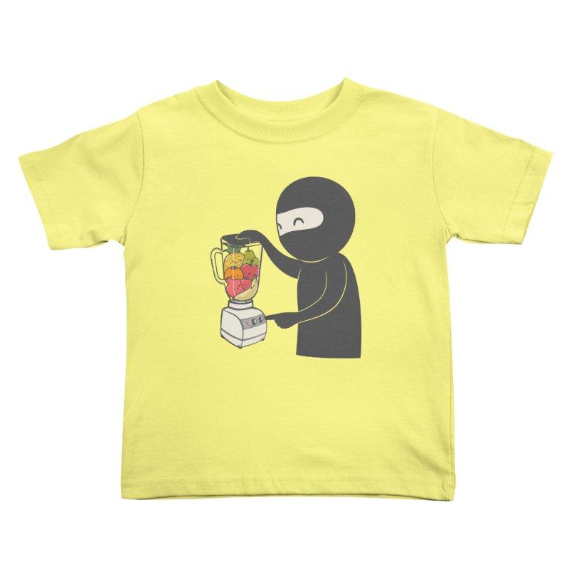 Fruit Ninja Kids Toddler T-Shirt by roborat's Artist Shop