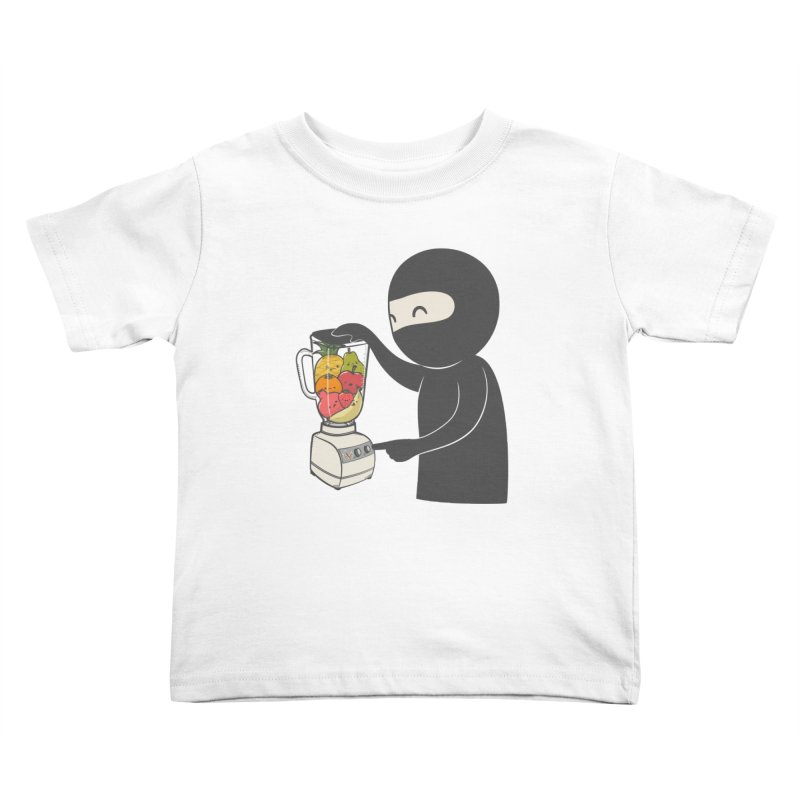 Fruit Ninja Kids Toddler T-Shirt by roborat's Artist Shop