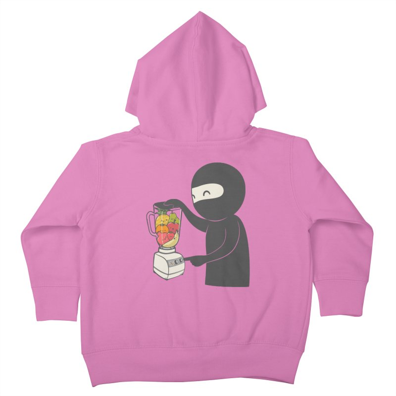Fruit Ninja Kids Toddler Zip-Up Hoody by roborat's Artist Shop