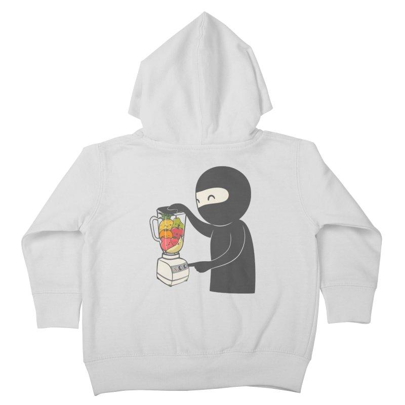 Fruit Ninja Kids Toddler Zip-Up Hoody by roborat's Artist Shop