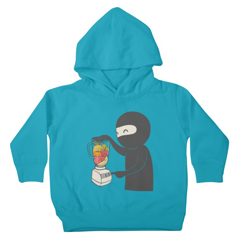 Fruit Ninja Kids Toddler Pullover Hoody by roborat's Artist Shop