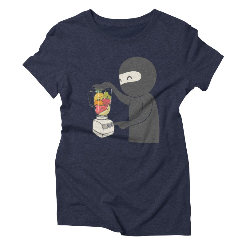 Fruit Ninja Women's Triblend T-Shirt by roborat's Artist Shop