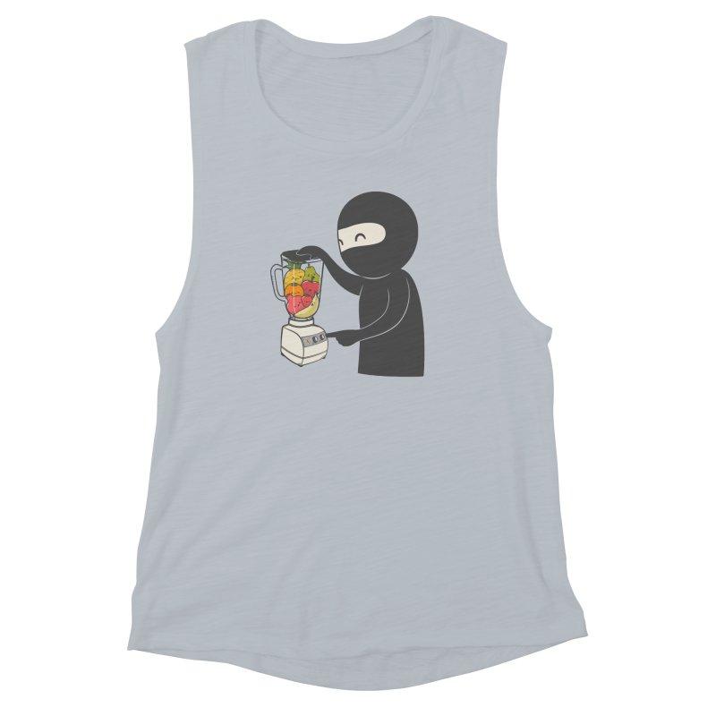 Fruit Ninja Women's Muscle Tank by roborat's Artist Shop