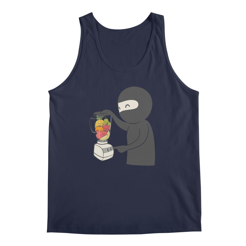 Fruit Ninja Men's Tank by roborat's Artist Shop
