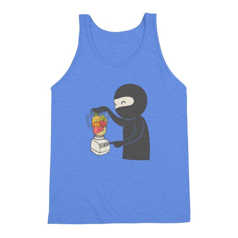 Fruit Ninja Men's Triblend Tank by roborat's Artist Shop