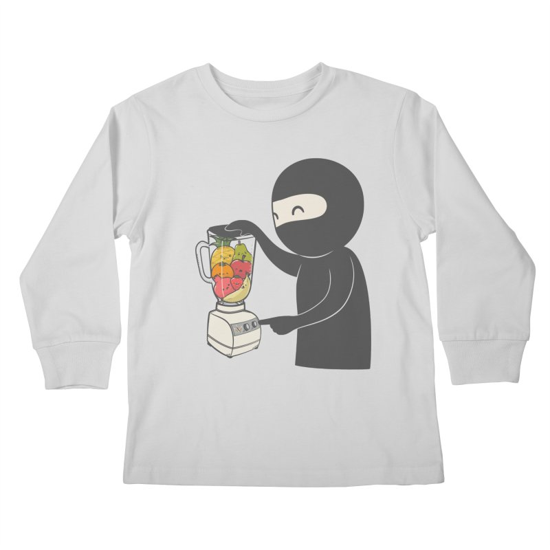 Fruit Ninja Kids Longsleeve T-Shirt by roborat's Artist Shop