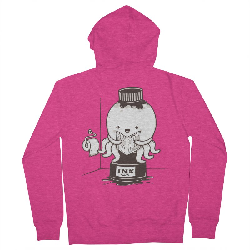 Ink Refill Women's Zip-Up Hoody by roborat's Artist Shop