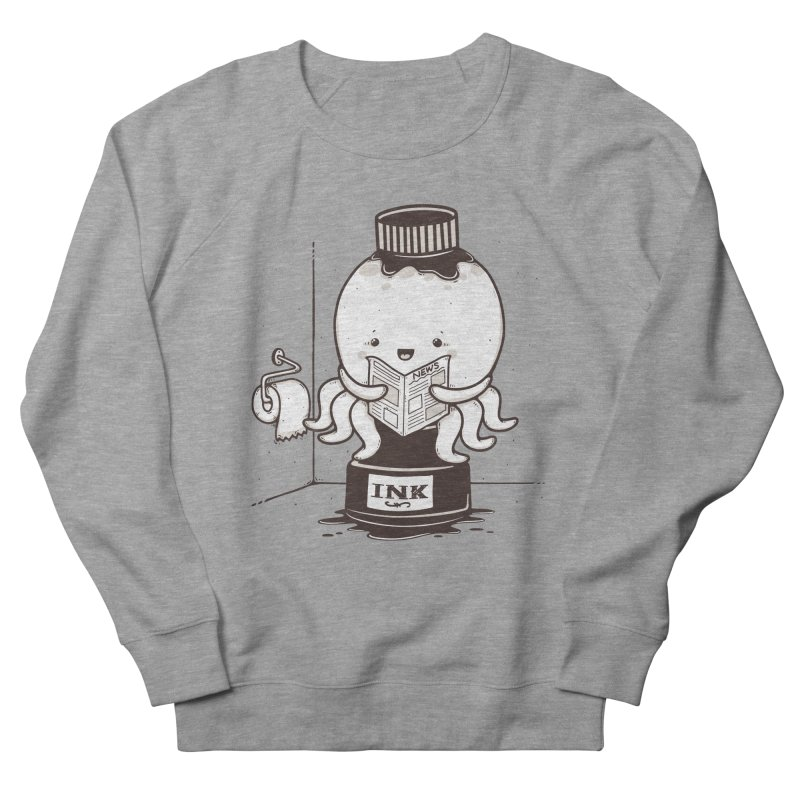 Ink Refill Men's French Terry Sweatshirt by roborat's Artist Shop