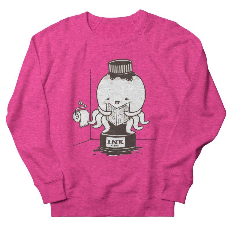 Ink Refill Men's French Terry Sweatshirt by roborat's Artist Shop