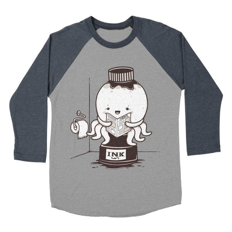 Ink Refill Women's Baseball Triblend Longsleeve T-Shirt by roborat's Artist Shop