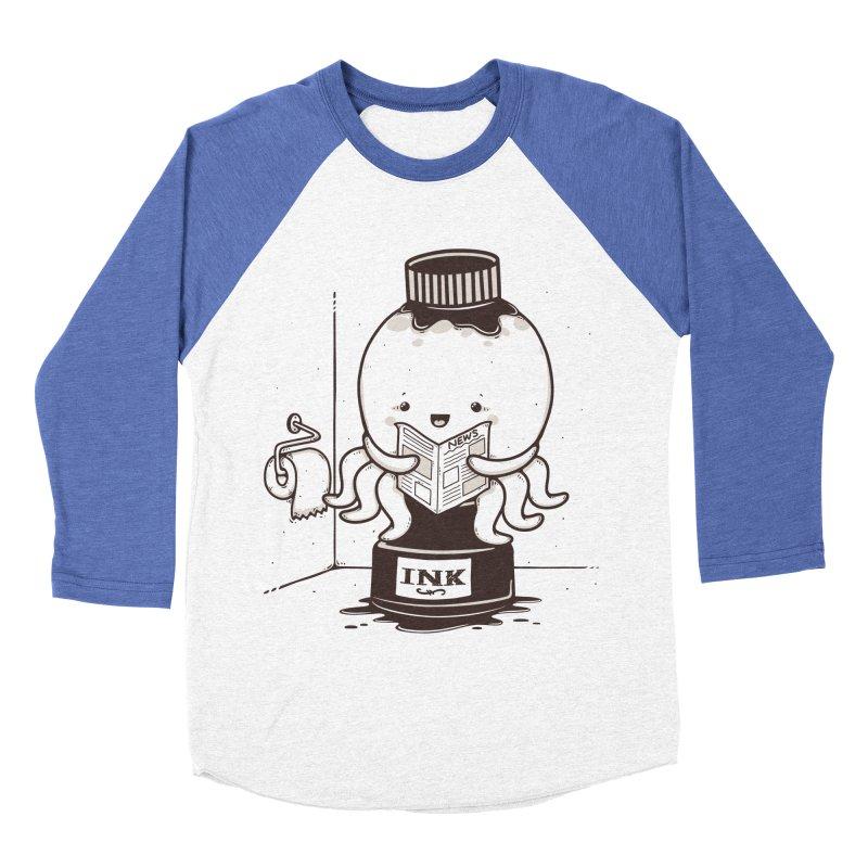 Ink Refill Men's Baseball Triblend Longsleeve T-Shirt by roborat's Artist Shop