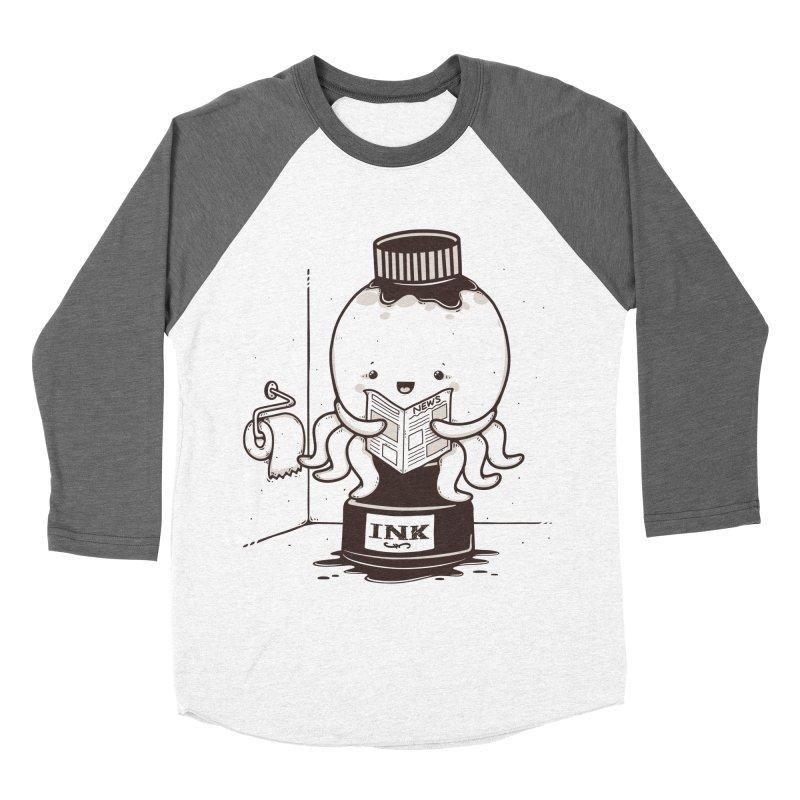 Ink Refill Men's Baseball Triblend T-Shirt by roborat's Artist Shop