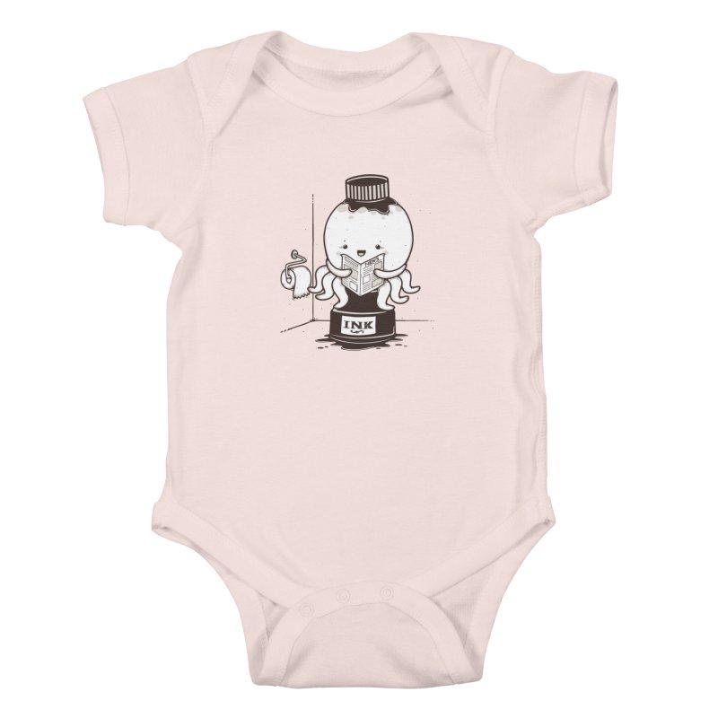Ink Refill Kids Baby Bodysuit by roborat's Artist Shop