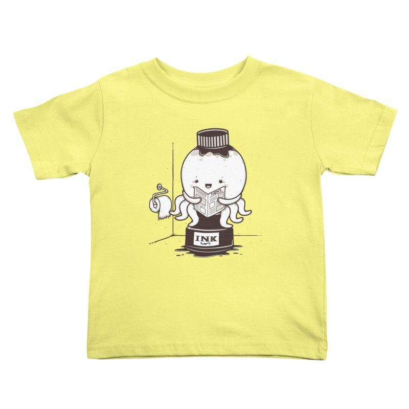 Ink Refill Kids Toddler T-Shirt by roborat's Artist Shop