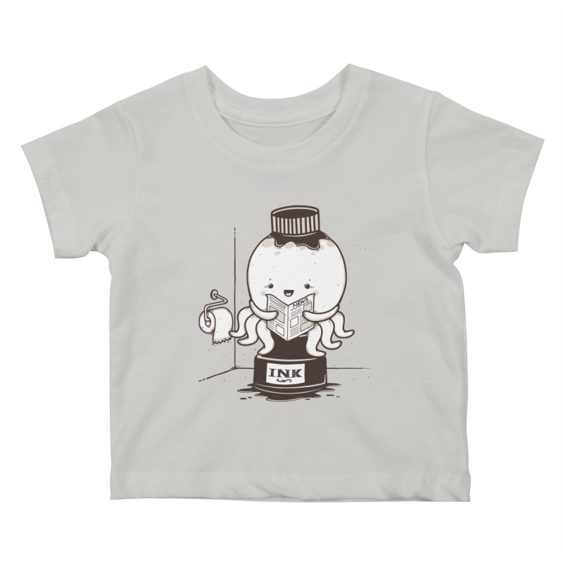 Ink Refill Kids Baby T-Shirt by roborat's Artist Shop
