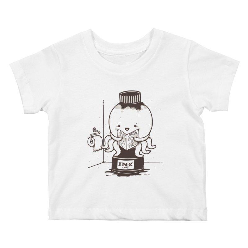 Ink Refill Kids Baby T-Shirt by roborat's Artist Shop