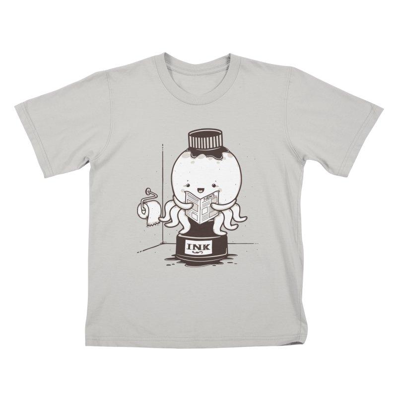 Ink Refill Kids T-shirt by roborat's Artist Shop