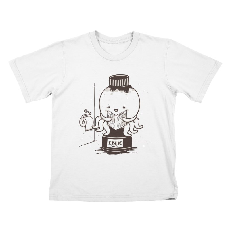 Ink Refill Kids T-Shirt by roborat's Artist Shop