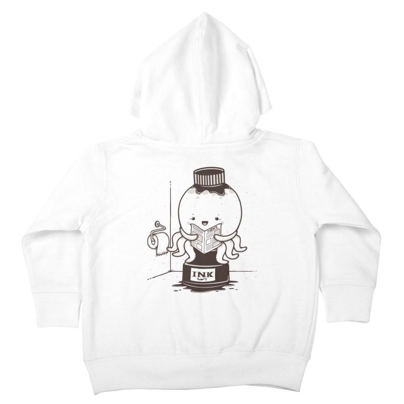 Ink Refill Kids Toddler Zip-Up Hoody by roborat's Artist Shop