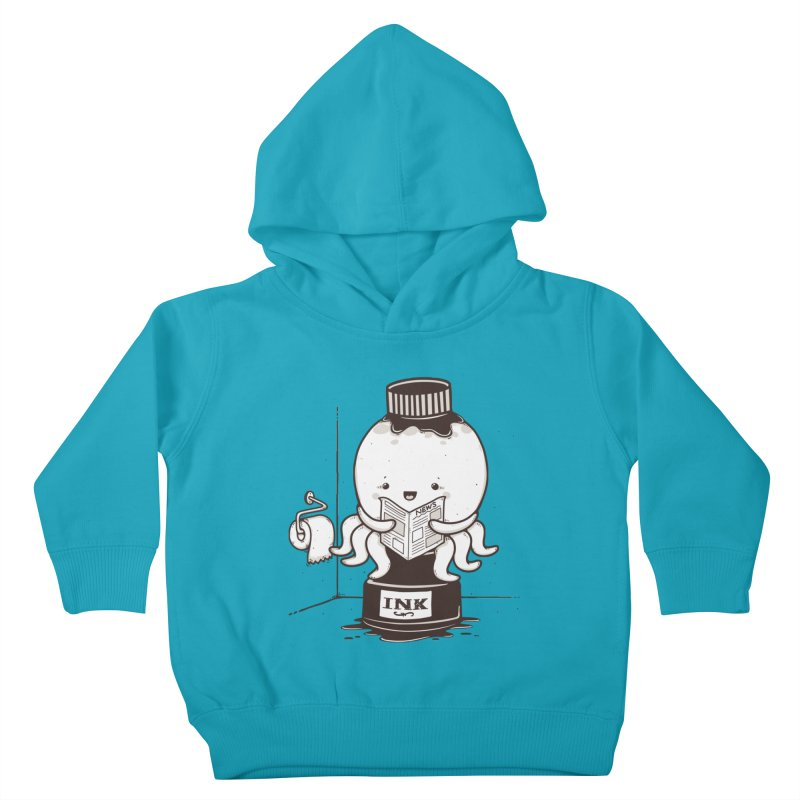 Ink Refill Kids Toddler Pullover Hoody by roborat's Artist Shop