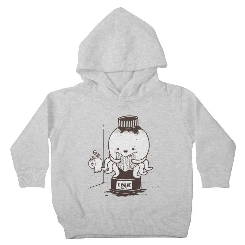 Ink Refill Kids Toddler Pullover Hoody by roborat's Artist Shop