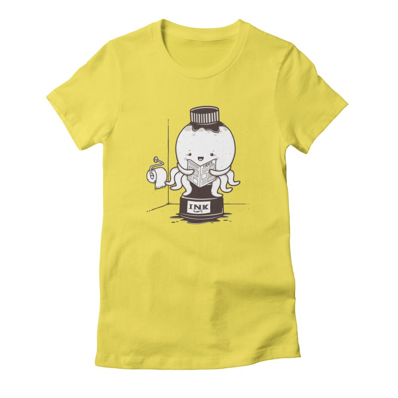 Ink Refill Women's T-Shirt by roborat's Artist Shop