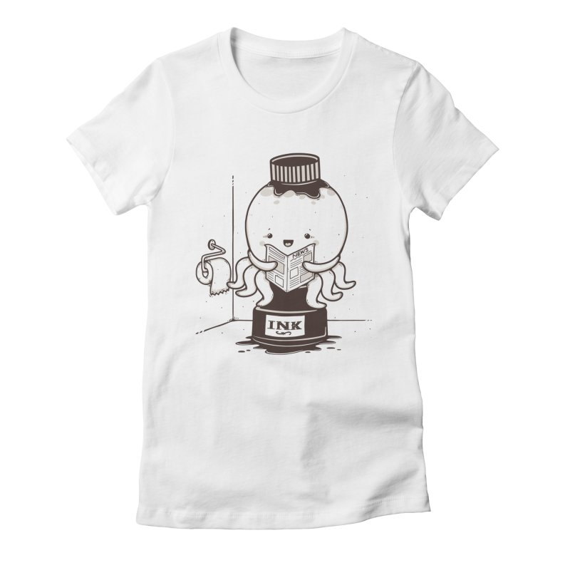 Ink Refill Women's Fitted T-Shirt by roborat's Artist Shop