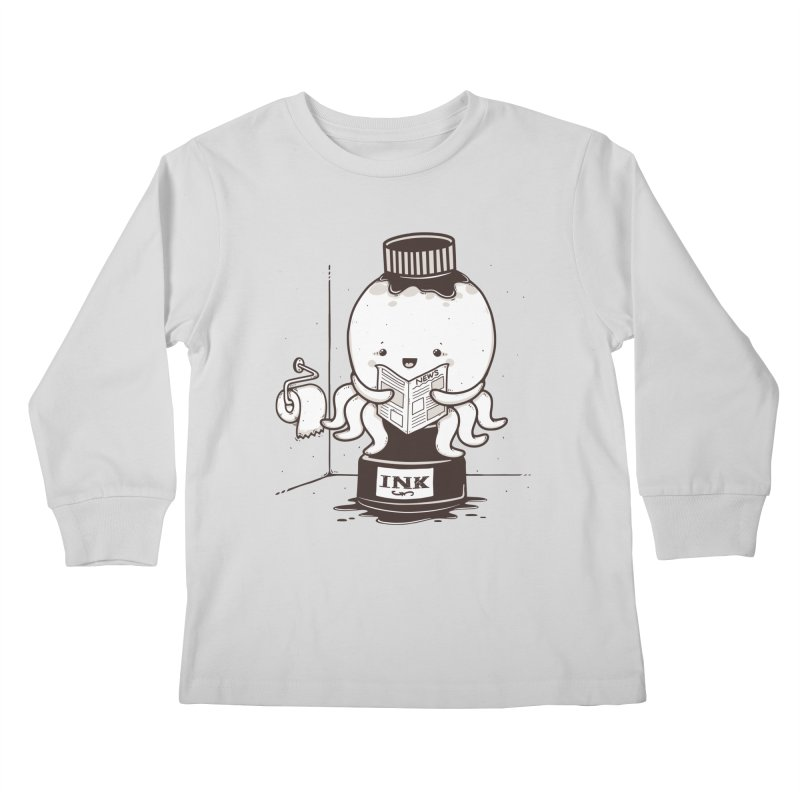 Ink Refill Kids Longsleeve T-Shirt by roborat's Artist Shop