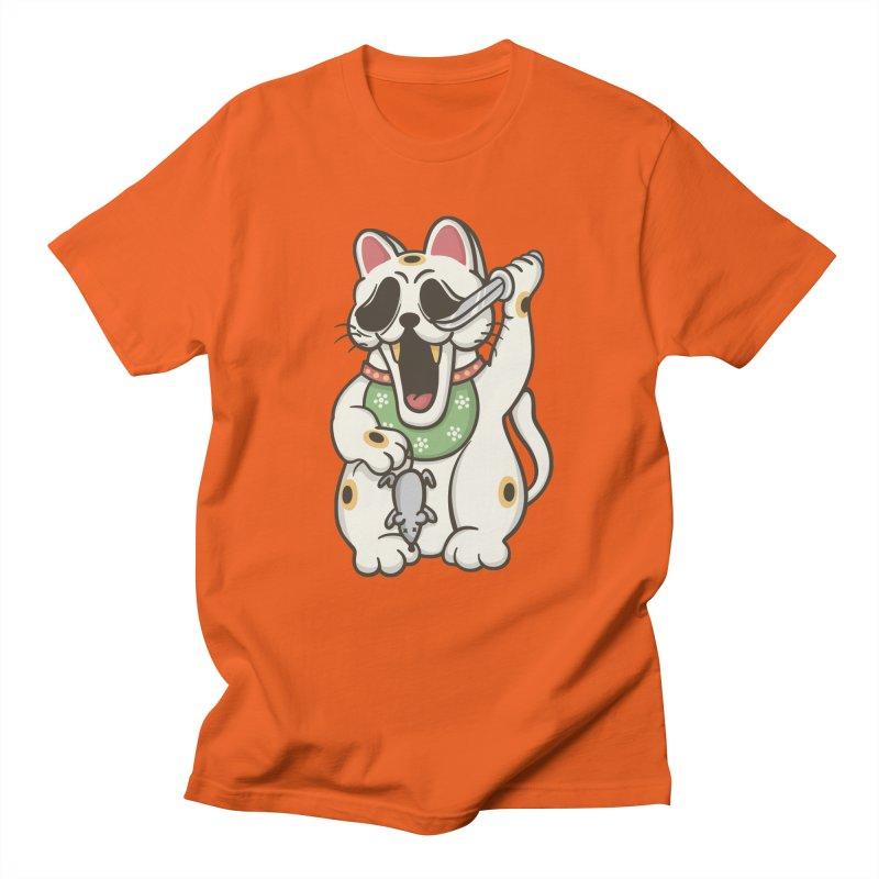 Bad Luck Men's Regular T-Shirt by roborat's Artist Shop