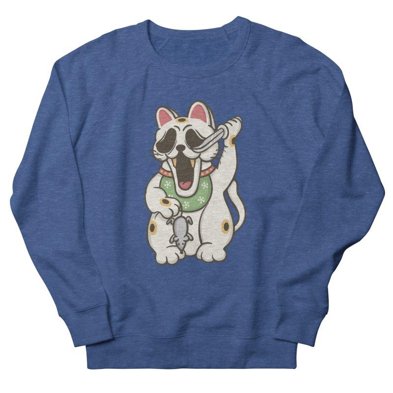 Bad Luck Men's Sweatshirt by roborat's Artist Shop